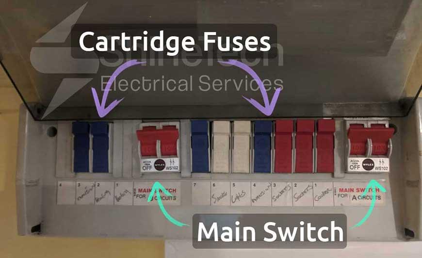 Cartridge Fuse Fuse Board