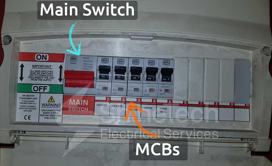 Consumer Unit With Mcb Only Protection