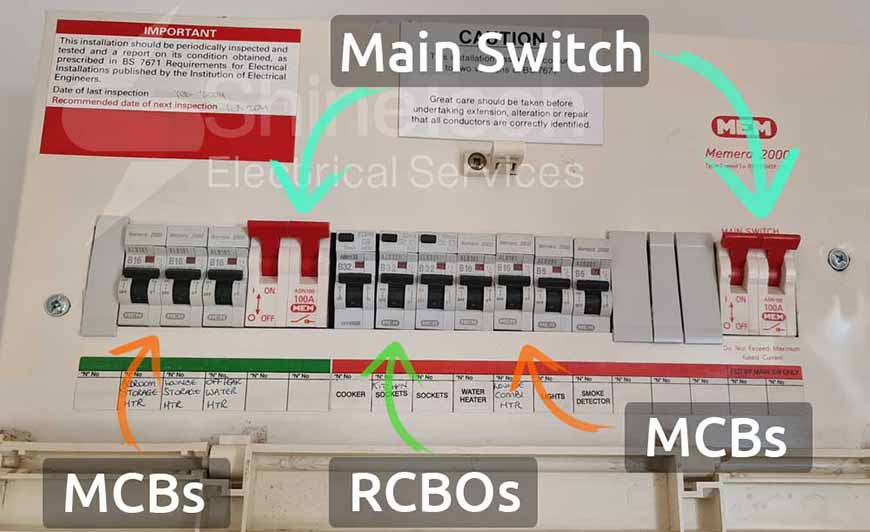 Rcbo Mcb Dual Supply Consumer Unit